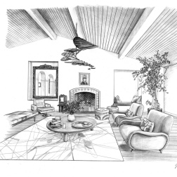 One-Point Perspective Rendering_small