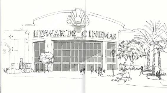 Sketch of Edwards Cinema